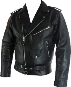 cazadora biker hombre