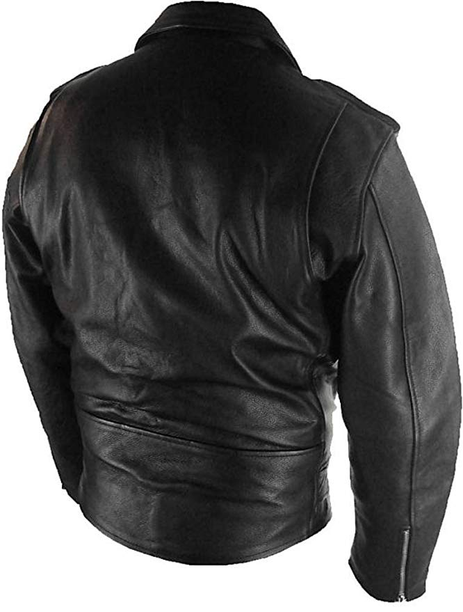 chaqueta de cuero para hombre