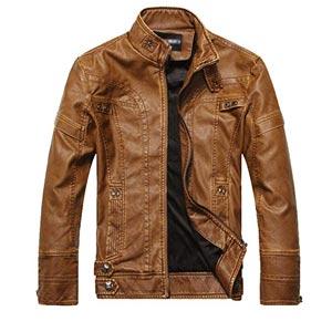 chaqueta de cuero sintetico madrid