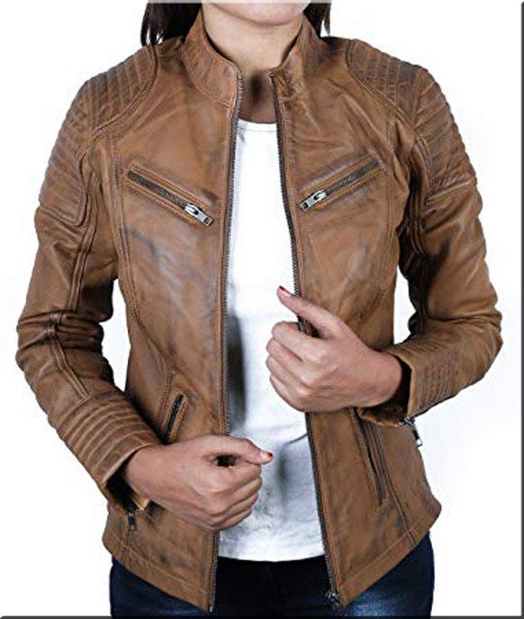 chaqueta de piel mujer madrid