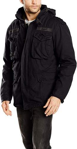 chaqueta militar hombre