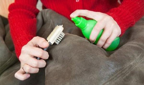 acondicionadores para limpiar chaqueta de ante