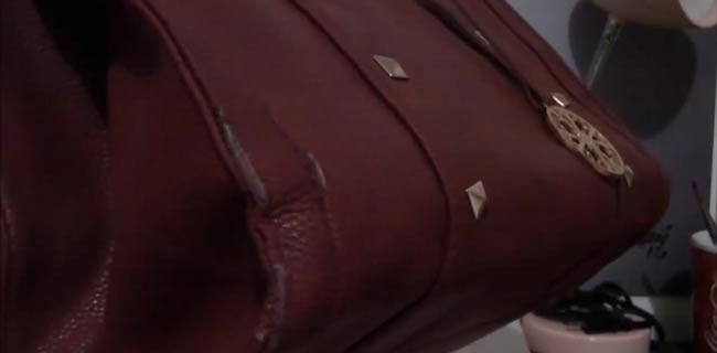 como arreglar bolsas de cuero con bordes pelados